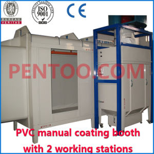 Hot Sell Manual Powder Spray Booth for Car Rim pictures & photos