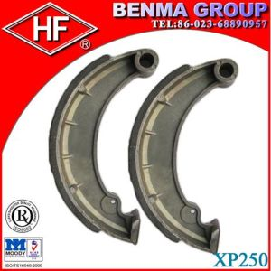 High Quality Motorcycle Brake Shoe (XP250) with Non-Asbestos