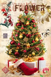 Christmas Gifts Customized, Christmas Oil Painting pictures & photos