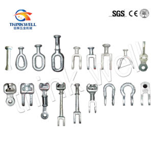 Wholesale Forged Poleline Hardware Galvanized Extension Link pictures & photos