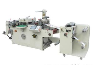 Rtmq-320b up to Down Sticker Paper Die Cutting and Slitting Machine pictures & photos