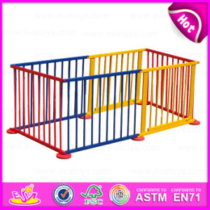 2015 Safety Care Wooden Folding Baby Playpen, Luxury Baby Furniture Baby Playpen, Colorful Large Playpen/Fence for Babies W08h010 pictures & photos