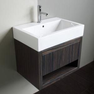 Customizable Solid Wood Veneer Sanitary Ware Bathroom Vanity Bathroom Furniture
