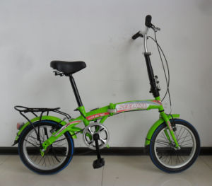 "Rear Factory Fold out Bicycle 16"" Folded Bike (FP-FDB-D025) pictures & photos"