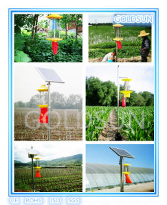 Ecofriendly Pesticide Lamp, Solar Insects Killer Lamp for Green Food, Manufacturer pictures & photos