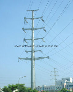 Steel Electric Power Transmission Pole pictures & photos
