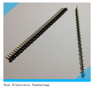2.54mm Pitch Male Straight Pin Header Single Row pictures & photos