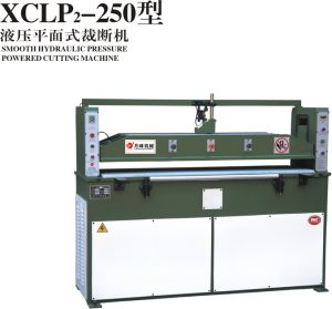 Plane Cutting Machine for Making Gloves