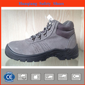 Professional Safety Shoes Withgrey Suede (HQ05043) pictures & photos