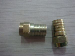 F Male Crimp Connector for Rg59/RG6 pictures & photos