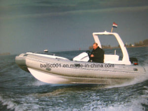 PVC Large Pontoon Low Price Rib Boat 580 Ce pictures & photos