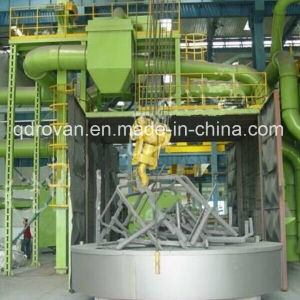 Rovan Factory Price Turntable Shot Blasting Machine for Foundry Cleaning