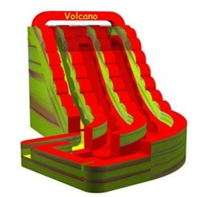 Volcano Water Slide Inflatable Pool Slide Jw0630-2 pictures & photos