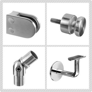 Handrail Fitting / Balustrade Fitting / 90 Degree Flush Joiner / Stainless Steel Flush Elbow pictures & photos