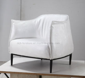 Modern Living Room 1 Seat Leisure Sofa (White) pictures & photos