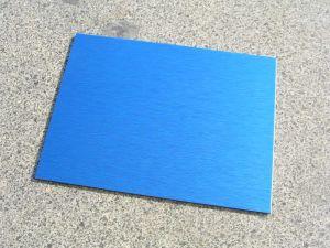 PE Aluminum Composite Panel (Blue brush)