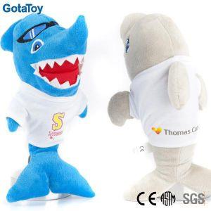 High Quality Custom Plush Shark Stuffed Soft Toy pictures & photos