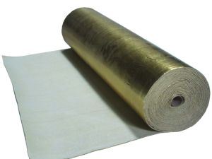 Acoustic&Moisture-Proof Flooring Underlayment with Gold Aluminium