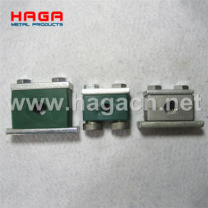 Plastic Aluminum Heavy Duty Tube Hydraulic Pipe Clamp pictures & photos