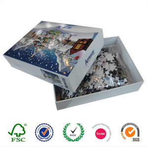 DIY Intelligence Paperboard Jigsaw Puzzle Toys pictures & photos
