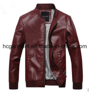 Motorcycle Suit, Safety Waterproof PU Leather Jacket for Man pictures & photos
