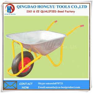 Galvanized Metal Tray 4.00-8 Wheel Barrows pictures & photos