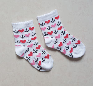 Fashionable Design Baby Cotton Socks with High Quality pictures & photos