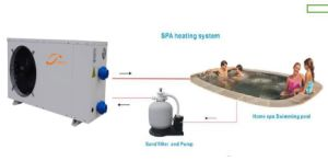 4.8kw-11kw Indoor&Outdoor Swimming Pool Heat Pump for Heating and Cooling pictures & photos
