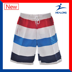 Healong Factory Free Sample Sublimation Beach Cheap Borad Shorts for Mens pictures & photos