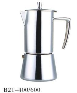 4/6cup Stainless Steel Moka Espresso Stove Moka Coffee Maker pictures & photos