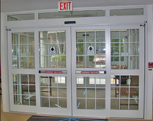Automatic Sliding Electric Doors with Low Price (DS-100) pictures & photos