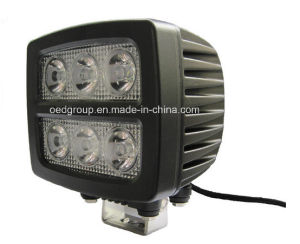 18W Rectangular LED Vehicle Work Light pictures & photos