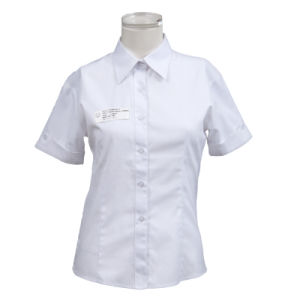 Ladies Formal Blank Shirt Design for Summer Shl-02 pictures & photos