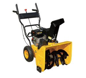 Best Sell Gasoline Loncin 6.5HP Power Snow Throwers (DIY-ZLST651Q) pictures & photos