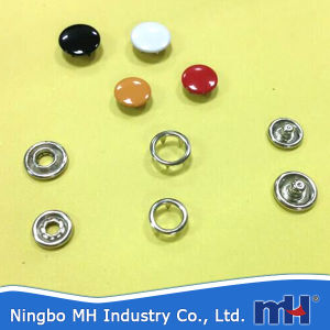 Stainless Steel Snap Ring Button pictures & photos