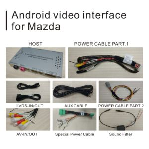 Android GPS Navigation System Box for Mazda Series Mirror Link Cast Screen Rear View Voice Control Video Interface pictures & photos