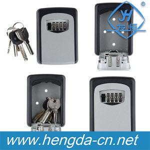 Digit Wall Mounted Key Storage Box /Zinc Alloy Combination Lock Box pictures & photos