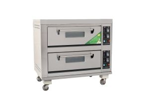 Commercial 3 Layers Electric Deck Oven Bakery Machine pictures & photos