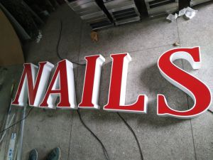 Outdoor Acrylic Channel Letter with Bright LED pictures & photos