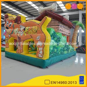 Customized Animal Amusement Park Dog Theme Inflatable Combo (AQ01711) pictures & photos