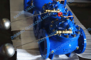 Automatic Hydraulic Control Float Ball Water Level Valve (GL100X) pictures & photos