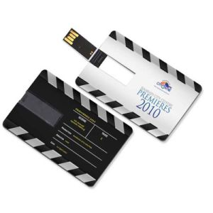 DIY Creative USB 2.0 Flash Credit Card 16GB 32GB USB Flash Drive Pen Drive 4GB 8GB Print Your Photo or Custom Company Logo pictures & photos