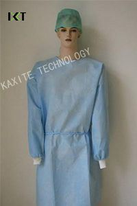 Non Woven Safe Disposable Surgical Gown Disposable Coverall pictures & photos
