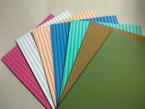 Corrugated EVA Sheet, Colored EVA Sheet with Texture pictures & photos
