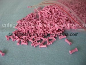 Pink Color Alumina Ceramic Eyelet pictures & photos