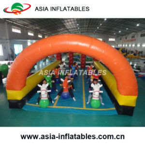 Hot Commercial Inflatable Fun Derby Pony Hop Race pictures & photos