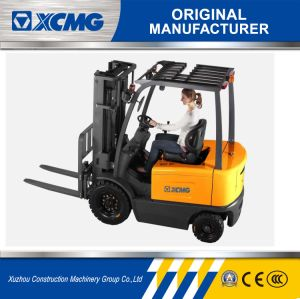 XCMG 3 Ton 3000kg 4-Wheel Mast Side Shift Forklift Price Cheap Electric Forklift pictures & photos