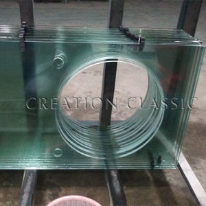 4mm-19mm Clear Bent Toughened Glass/ Curved Tempered Glass pictures & photos