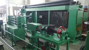 High Working Efficiency PLC Double Twist Gabion Wire Mesh Machine pictures & photos