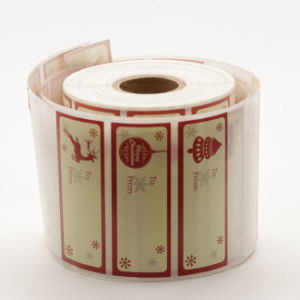 Logo Label Roll pictures & photos